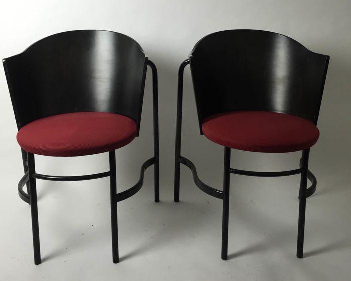 6 Design Stoelen.Design Stoelen Merk Brobon Bonnema En F Van Den Broecke 6