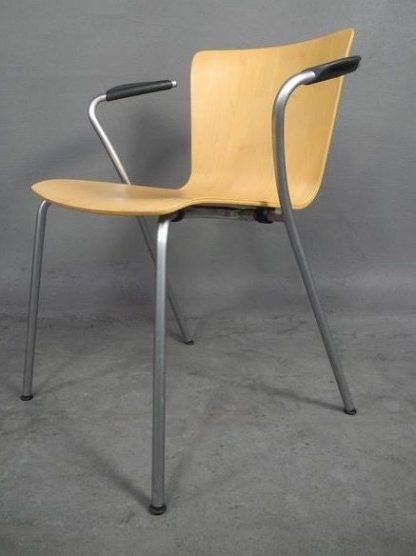 Fritz Hansen Design Stoelen.Vicoduo Design Stoelen Van Vico Magistretti Voor Fritz Hansen En Knoll Design 4 Stuks